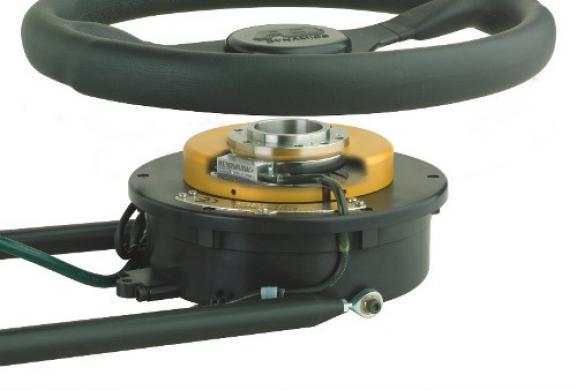 Angular Encoder Steering Robot