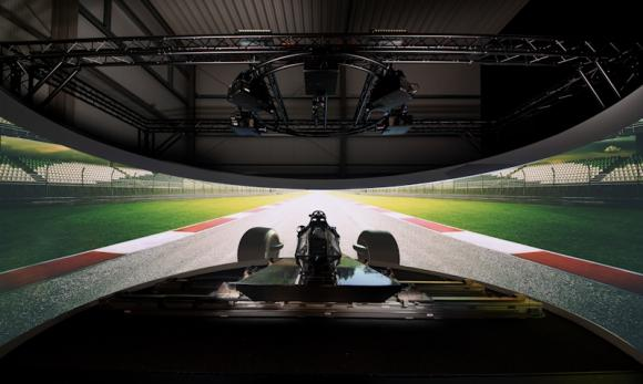 Advanced Driving Simulator For Motorsport