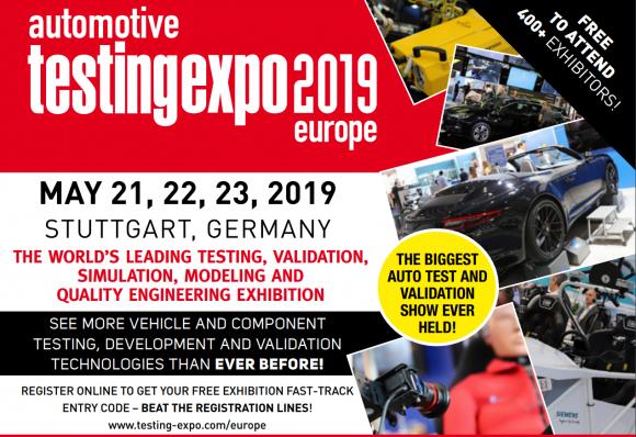 Automotive Testing Expo Stuttgart Germany Europe