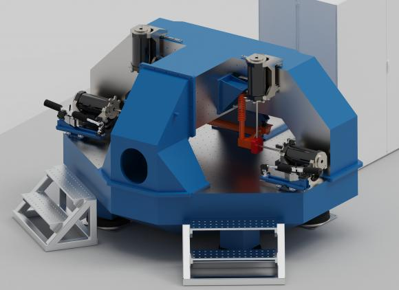 Axle Rig For Measuring Noise Vibration And Harshness Transmission