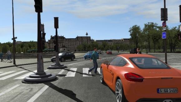 Driving Simulator Immersive Graphics