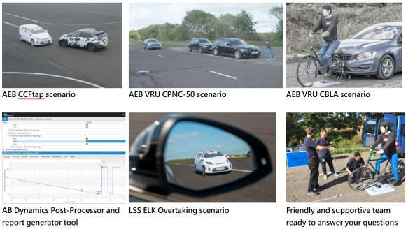 Find Out About All The Euro Ncap Scenarios Performed Using Ab Dynamics Equipment