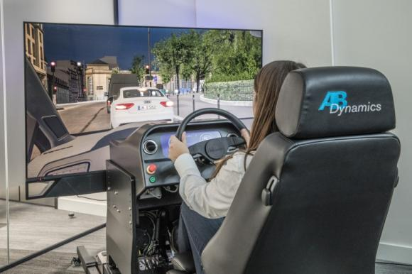 High Quality Static Compact Simulator For Adas Testing From Ab Dynamics