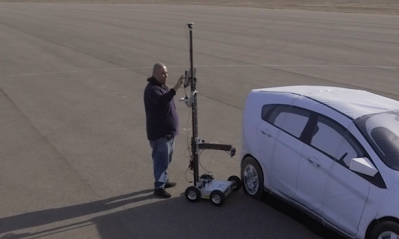 Measure Adas Targets Using Radar Measurement Cart