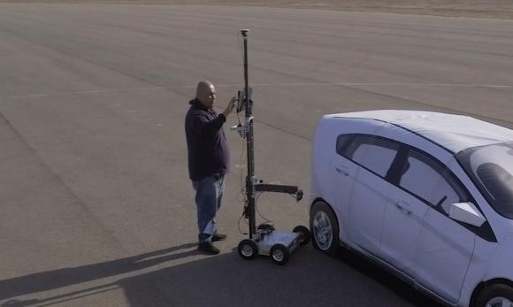 Measure Adas Targets Using Radar Measurement Cart