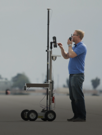 Radar Measurement Cart For Verifying And Calibrating Adas Targets