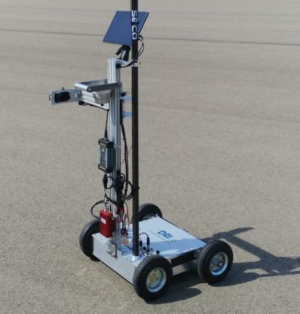 Radar Measurement Cart With High Quality Sensors For Accuracy