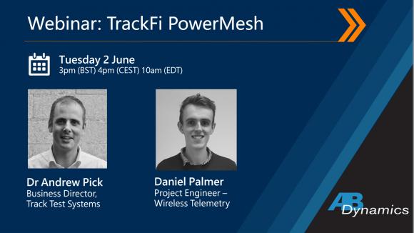 Track Fi Power Mesh Wireless Telemetry Webinar By Ab Dynamics