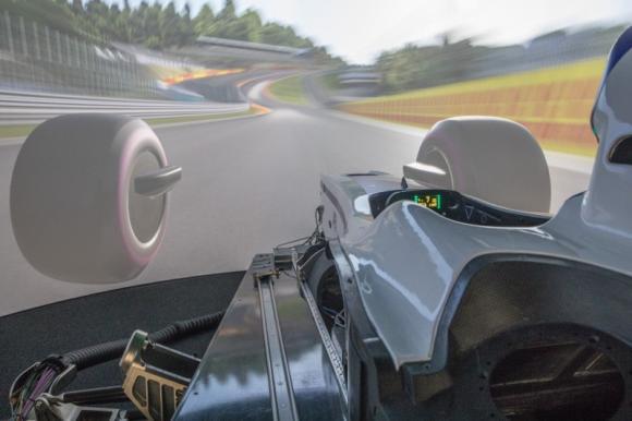 Vehicle Driving Simulator For Motorsport Applications