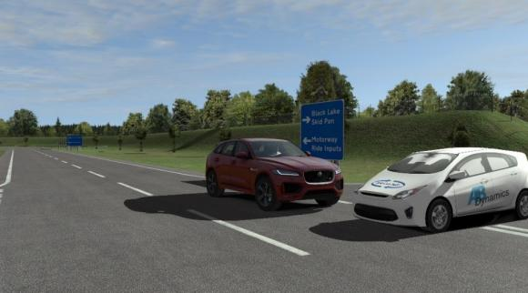 Vehicle Driving Simulator Graphics